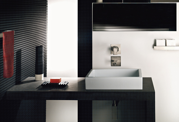 gessi - elegante lezione del minimalismo - Arredo Bagno Toscano Vignate